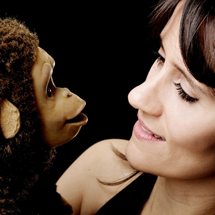 Nina Conti: 'I'm hoping people will sit in the front row if they're feeling brave'